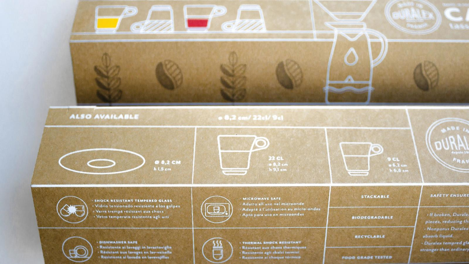 Duralex // Product Packaging