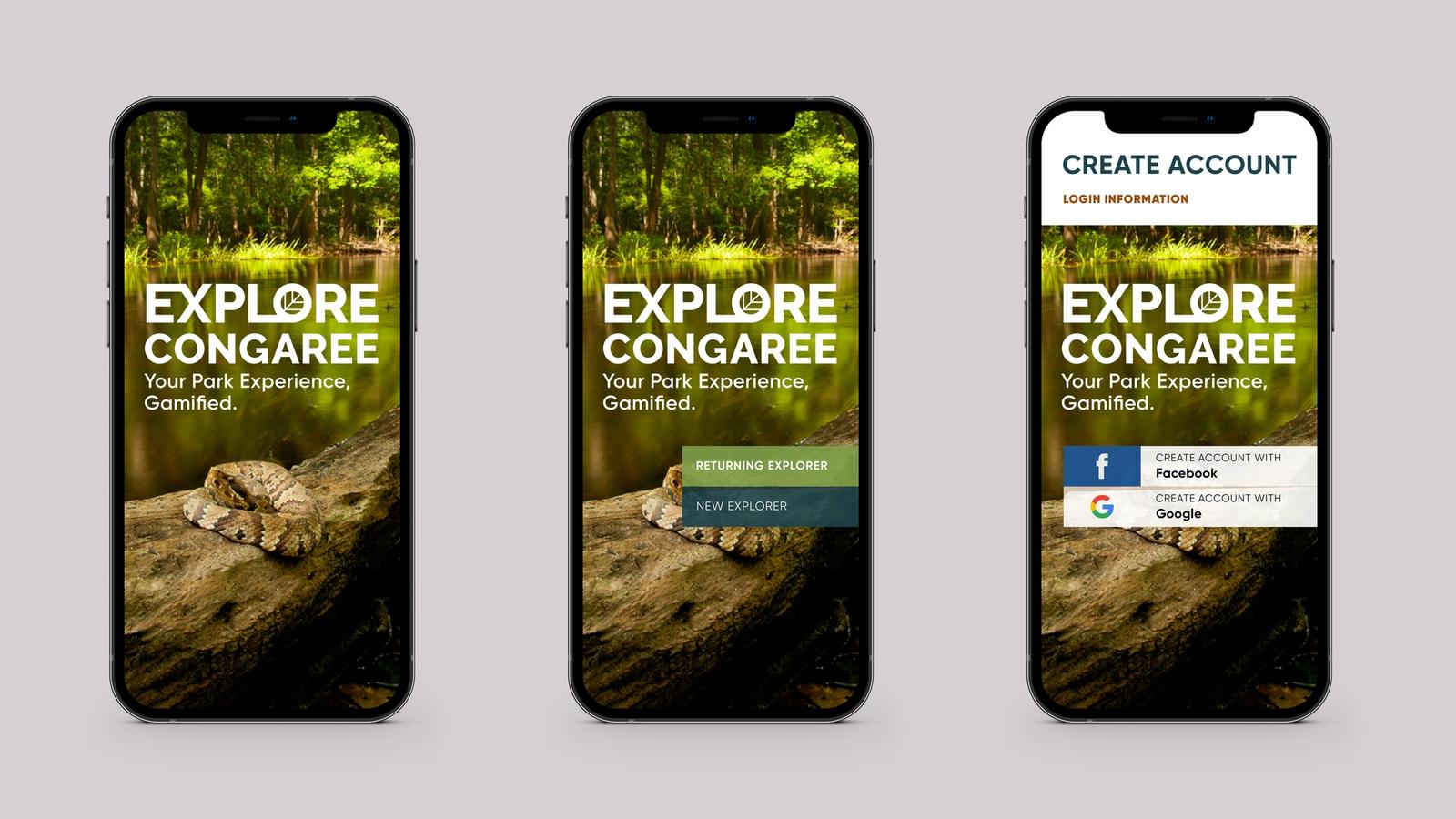 National Park Connect // Mobile Game (MFA Thesis Project)