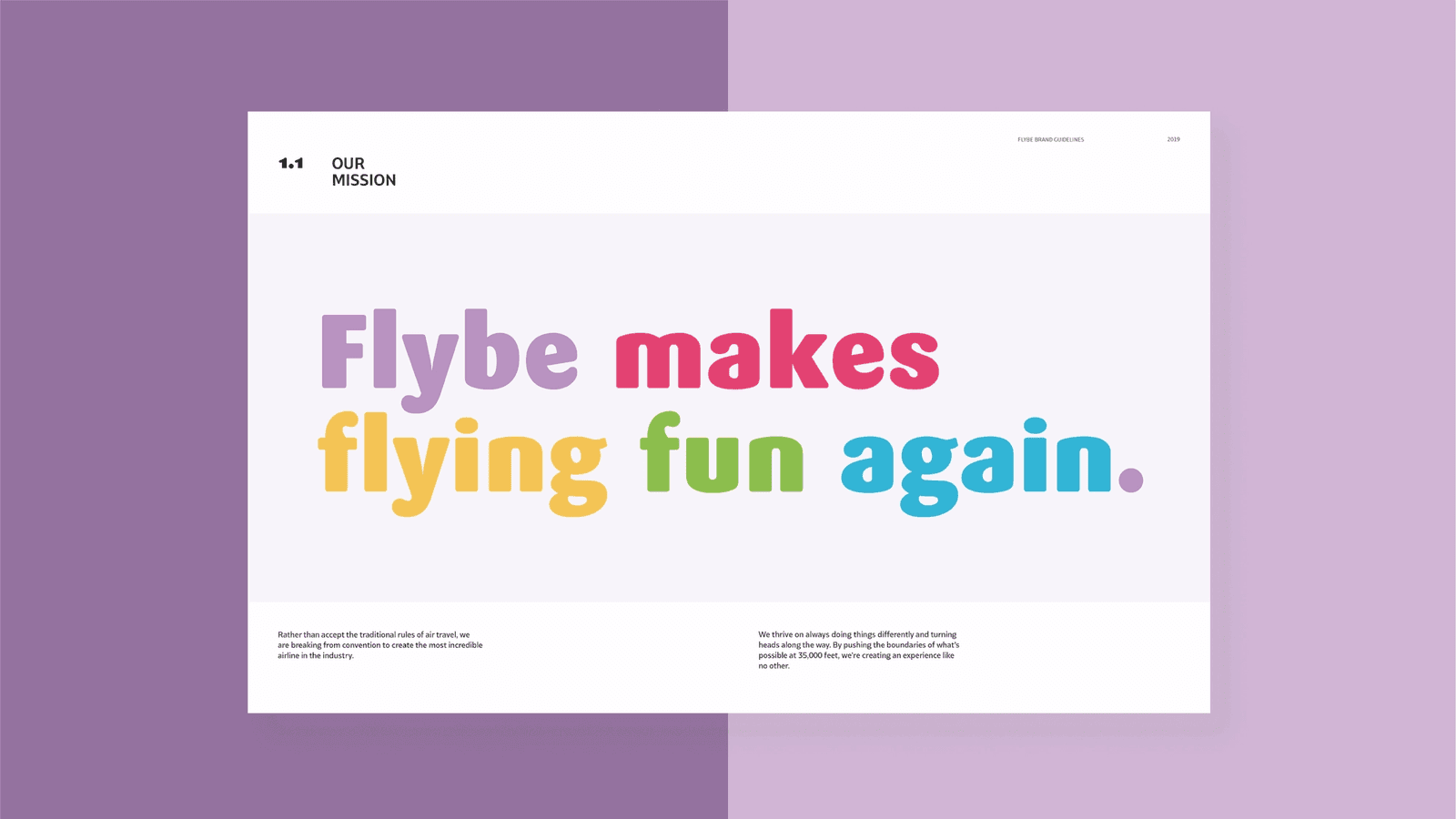 Flybe Airlines // Brand Guidelines