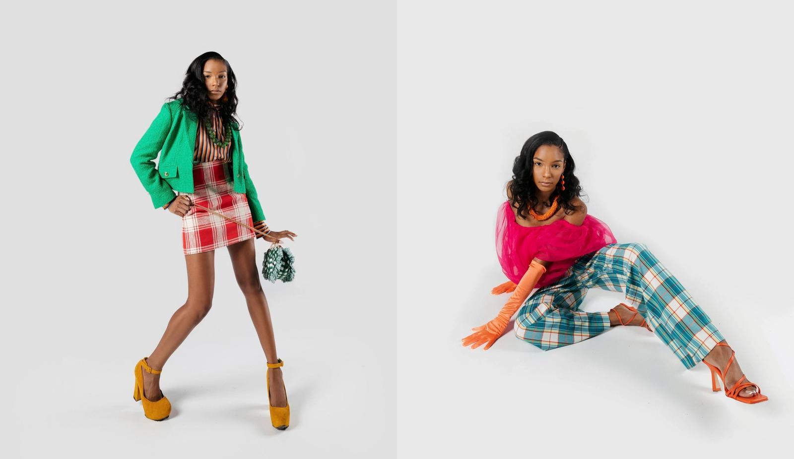 Stylist: Anita Johnson, Photographer: Tyler Hooks, Model: Jessica Brisco