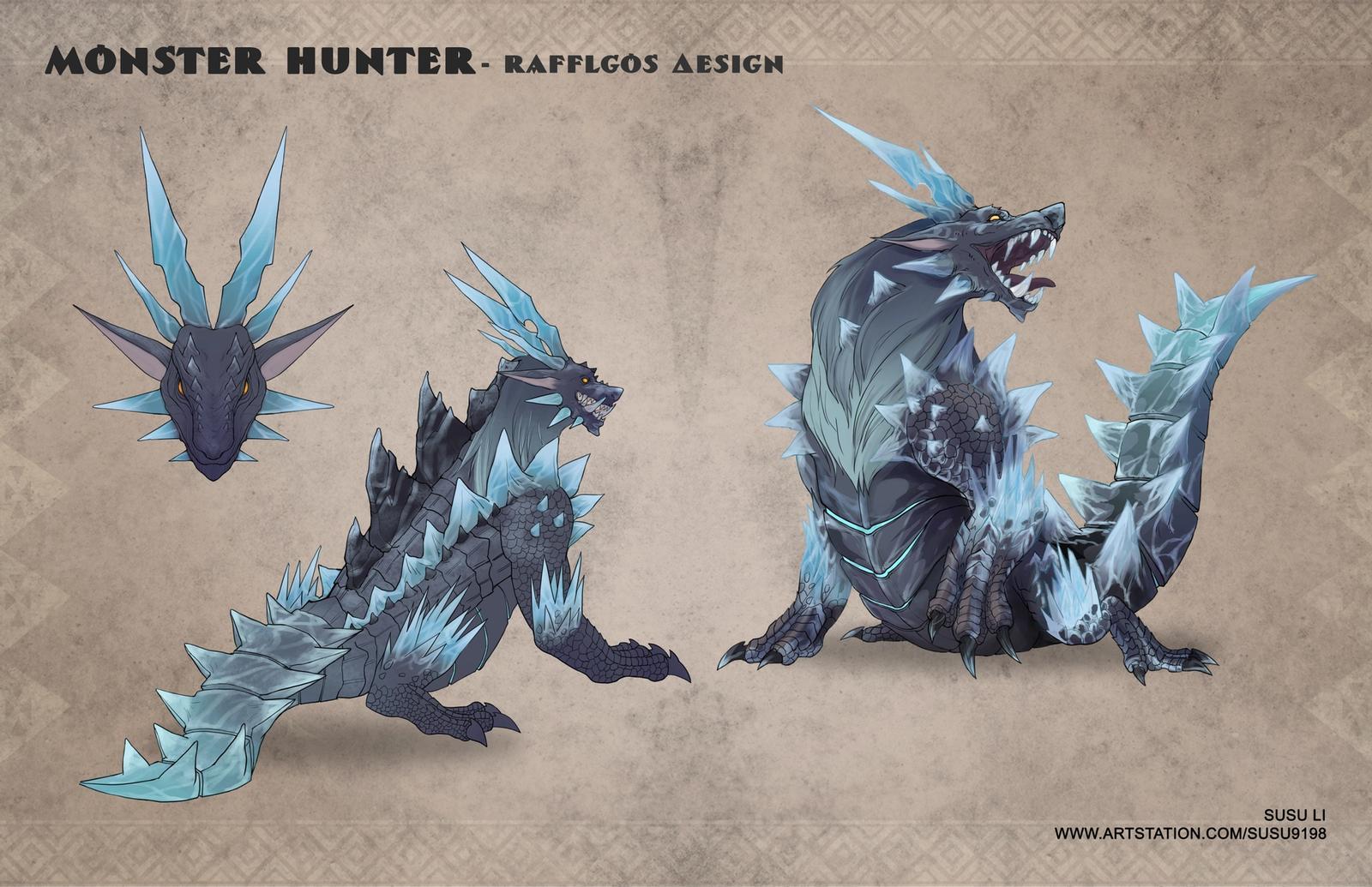 Rafflgos - Monster Hunter
