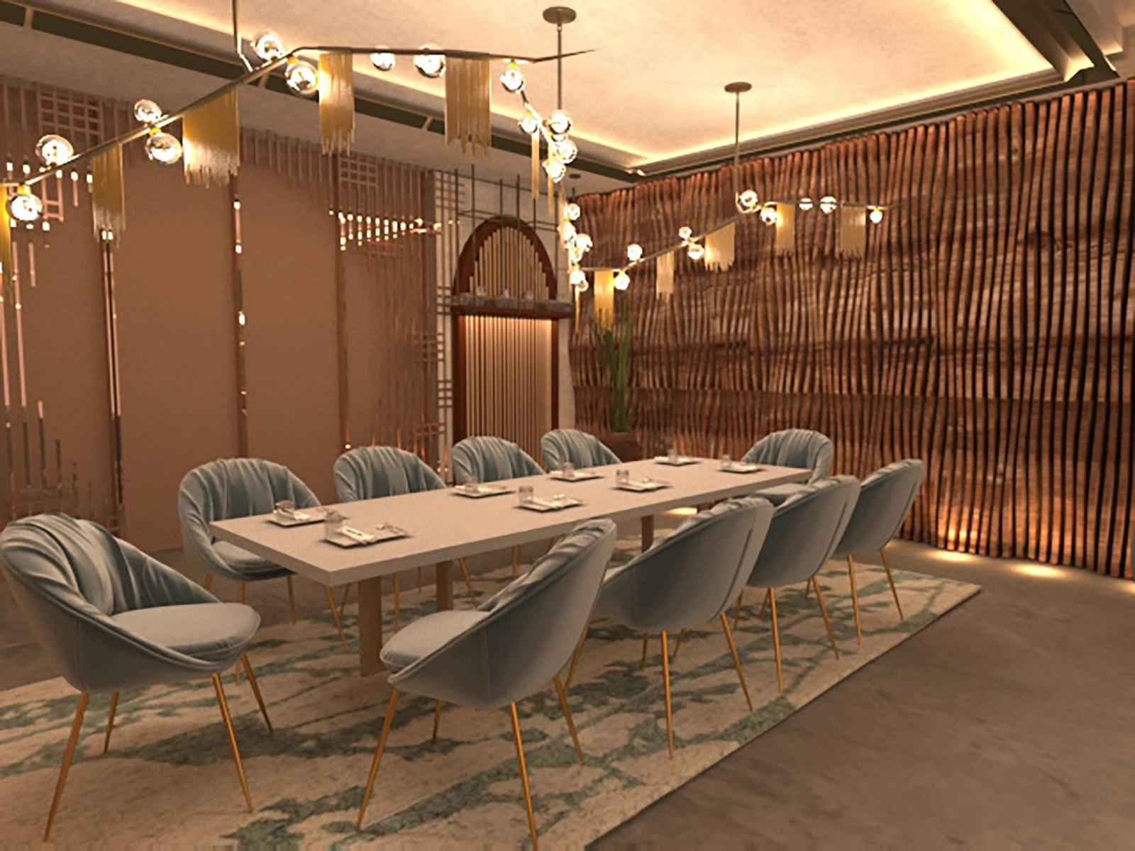 Raw Luminaire - Private Dining Area 2