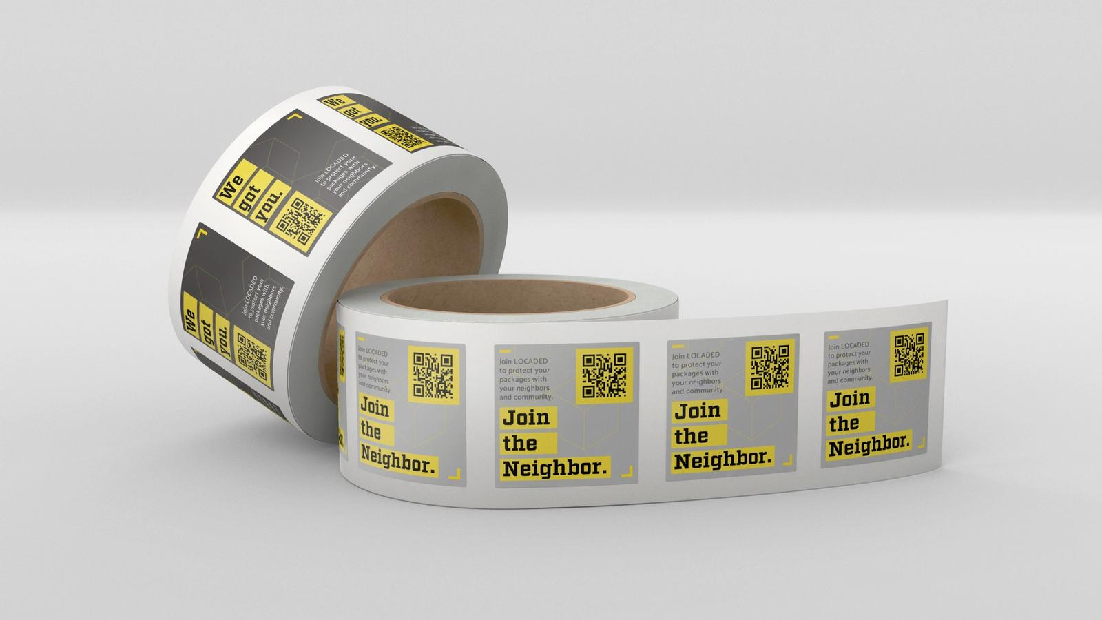 Locaded Asset Tags // MFA Thesis Project