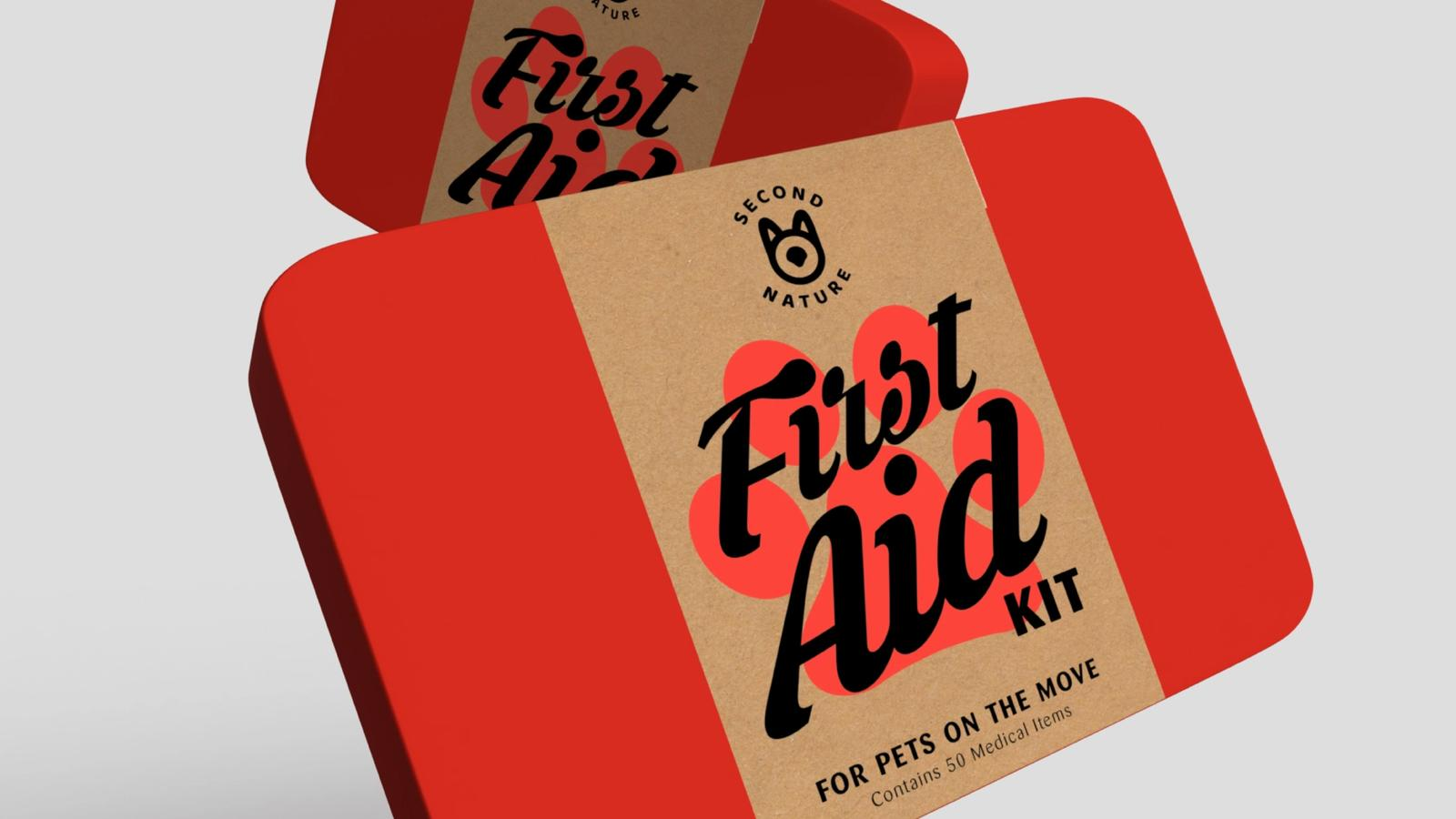 Buddy First Aid Kit // Retail Packaging