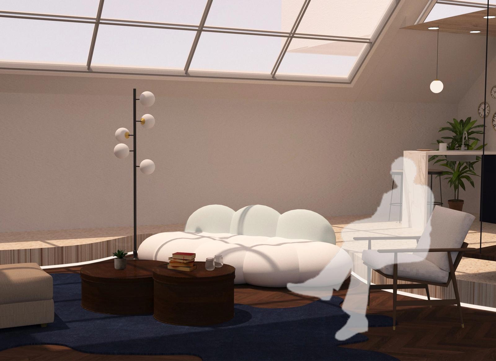 Artist Studio - Living Area