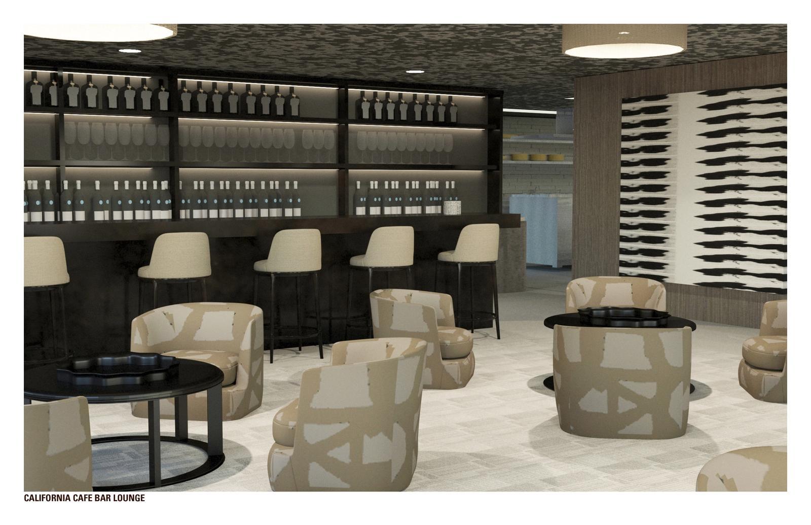 Fox Plaza Re-Imagined - Bar Lounge