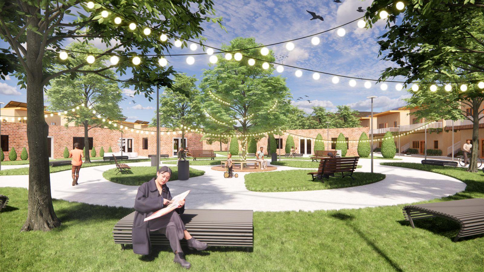 Eco-Block - Plaza
