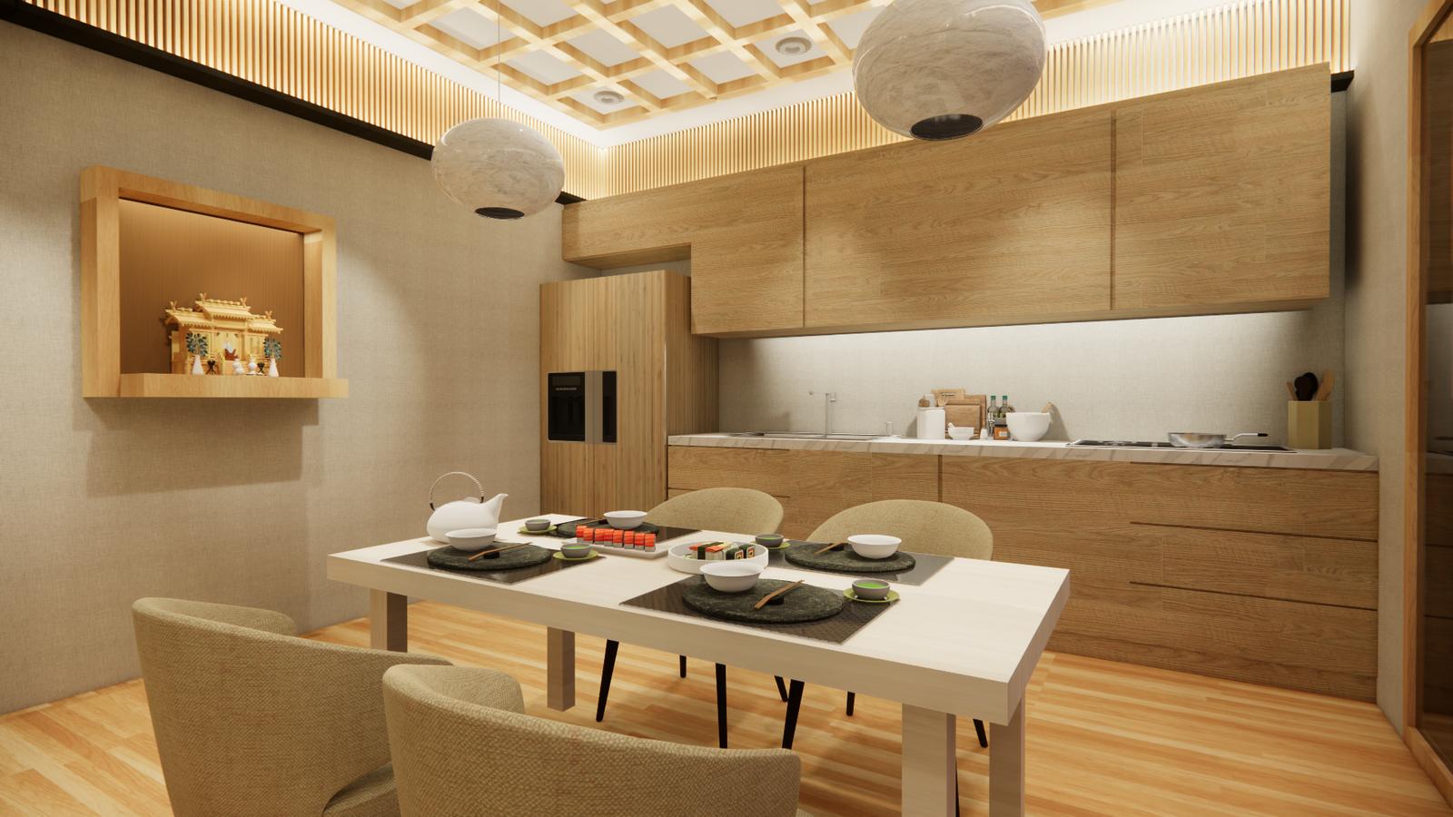 Naniwa Senior Living Center - Apartment Unit's Dining Space