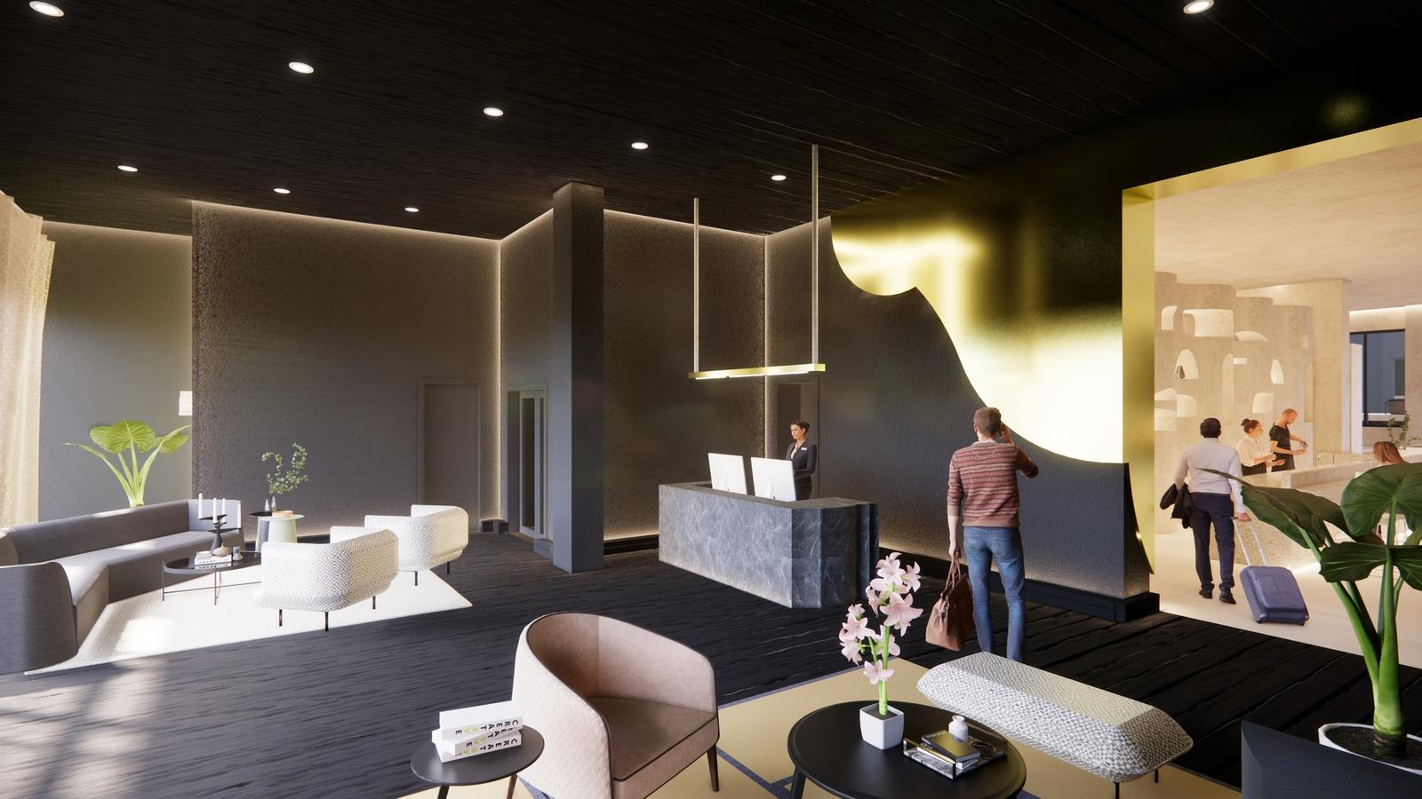 Lobby 1 - hotel b.