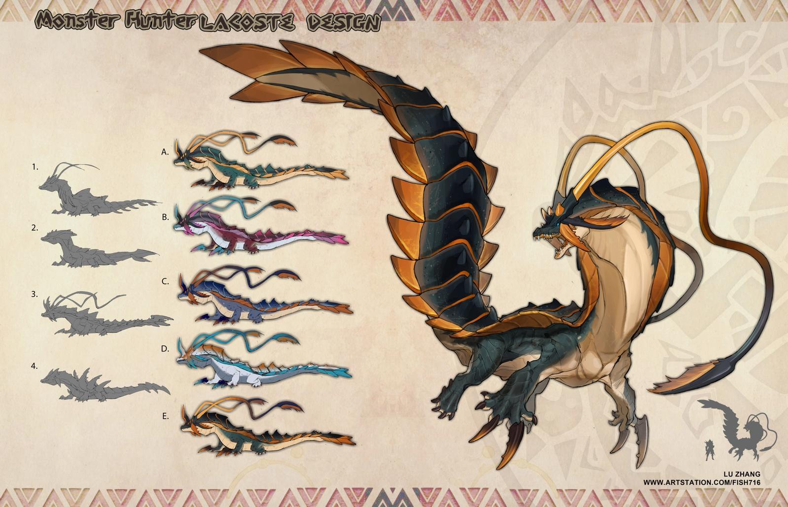 Monster Hunter - Lacoste