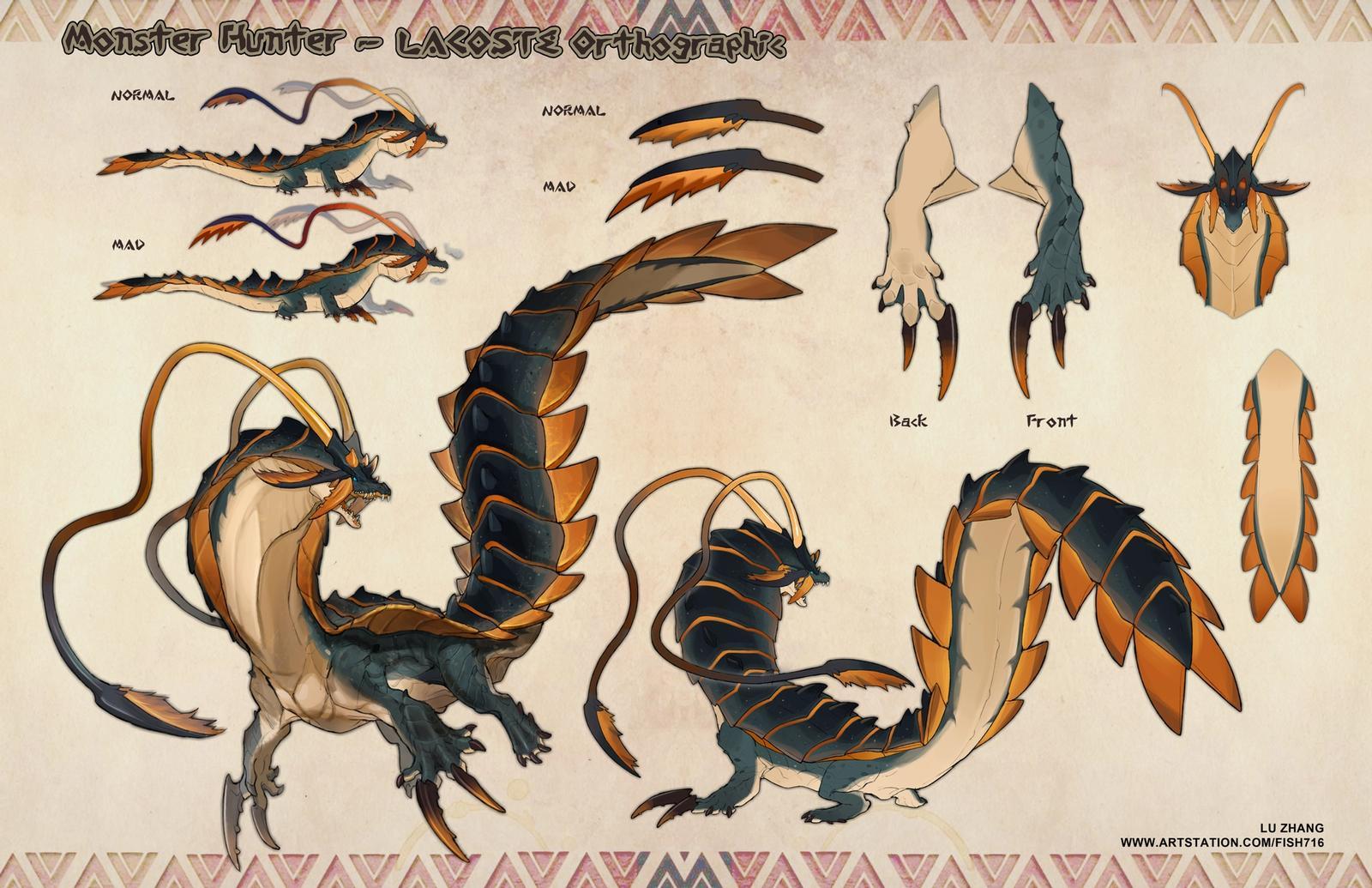 Monster Hunter Design - Lacoste