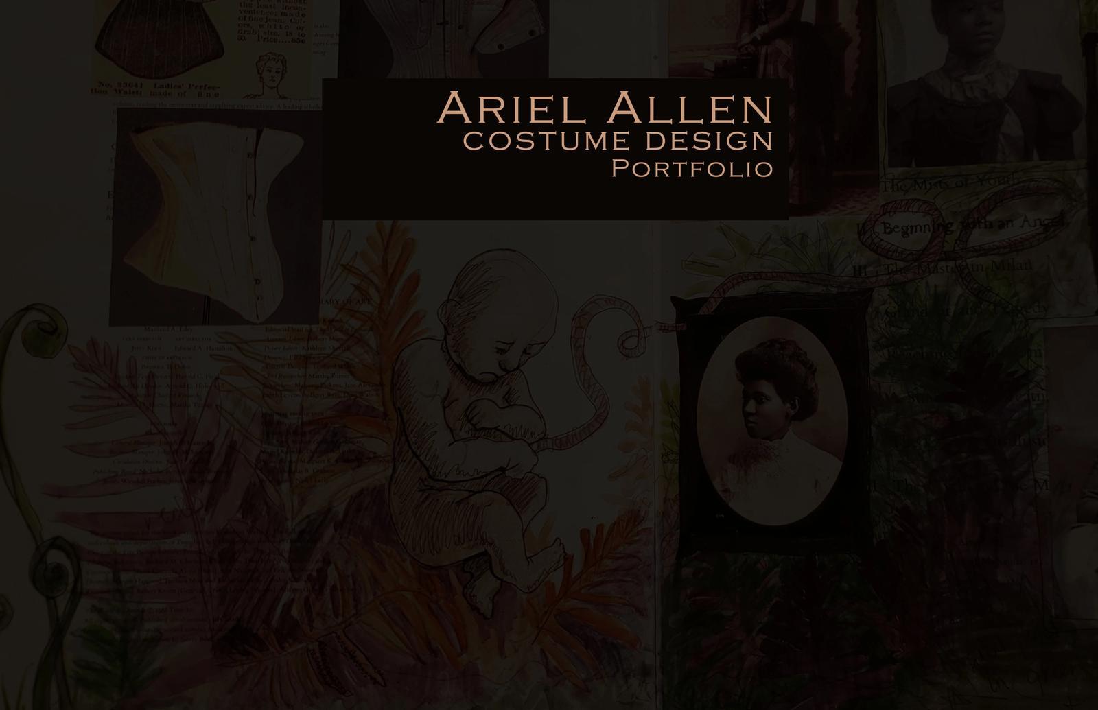Ariel Allen Costume Design Portfolio