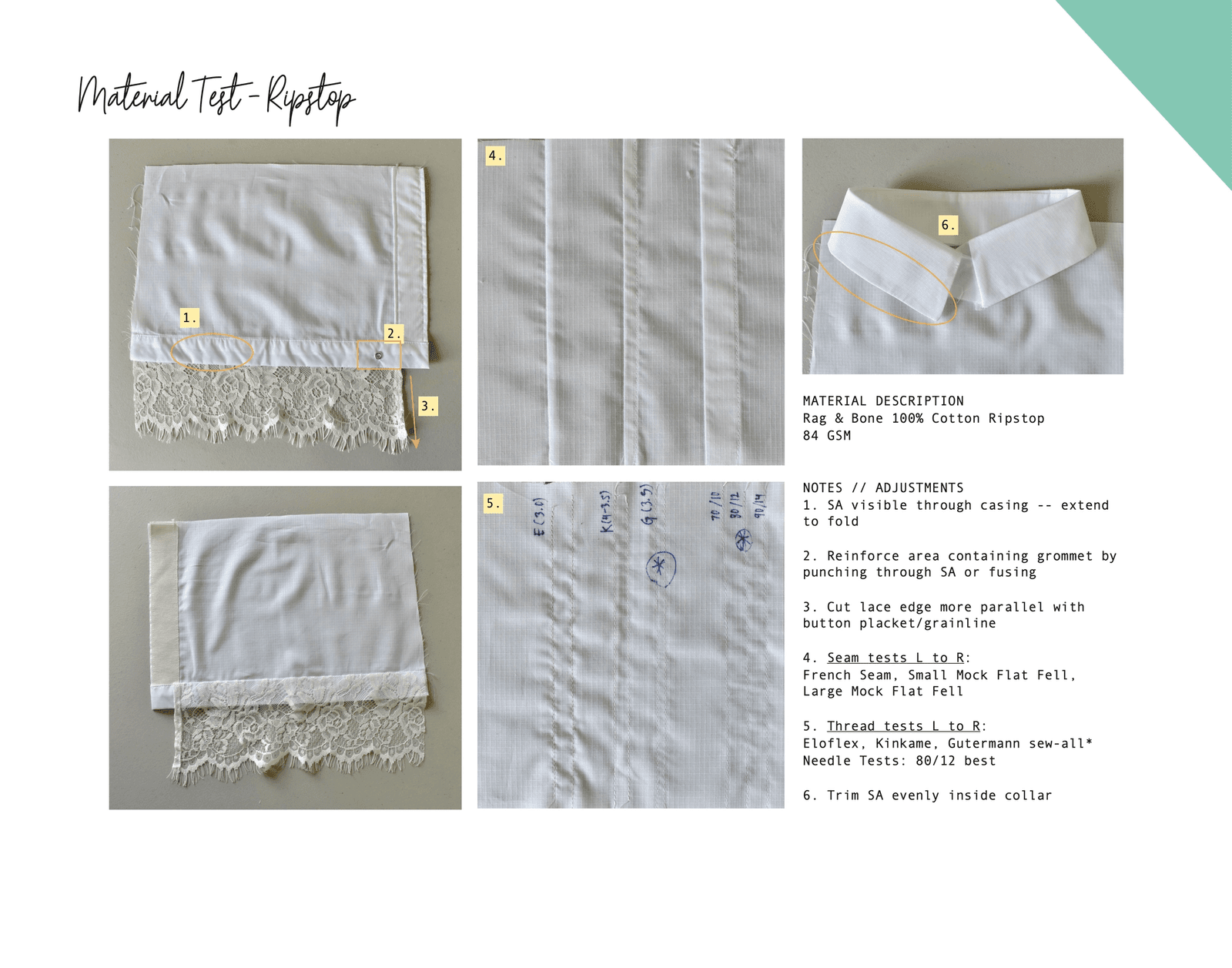 Replication & Material Study of Sacai Shirt