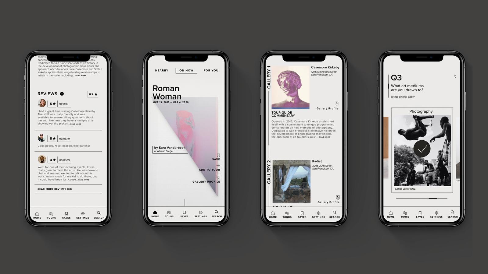 Artwell // Art Discovery App