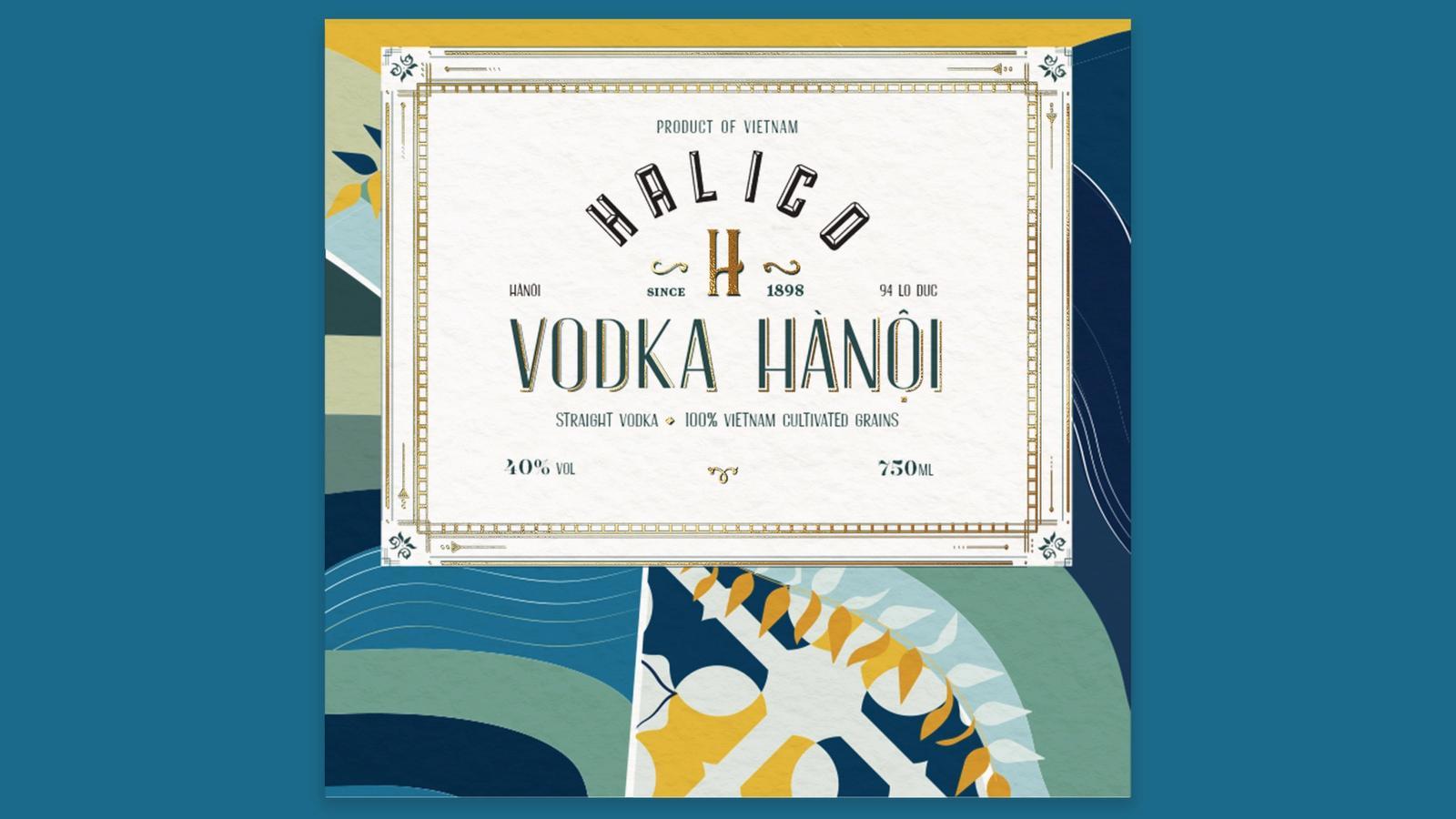 Halico // Vodka Packaging