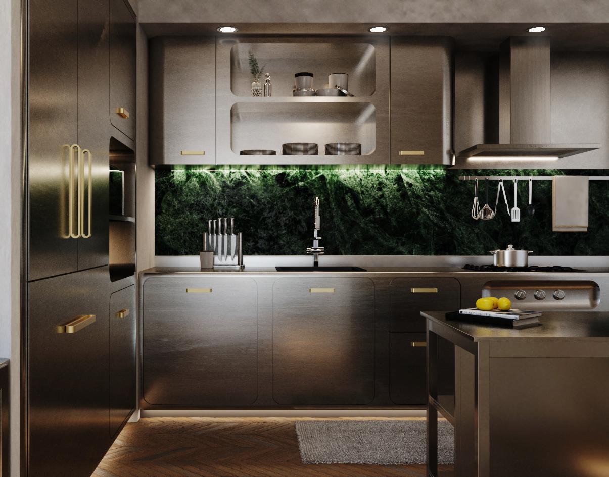 The Green Bugatti - Kitchen 1
