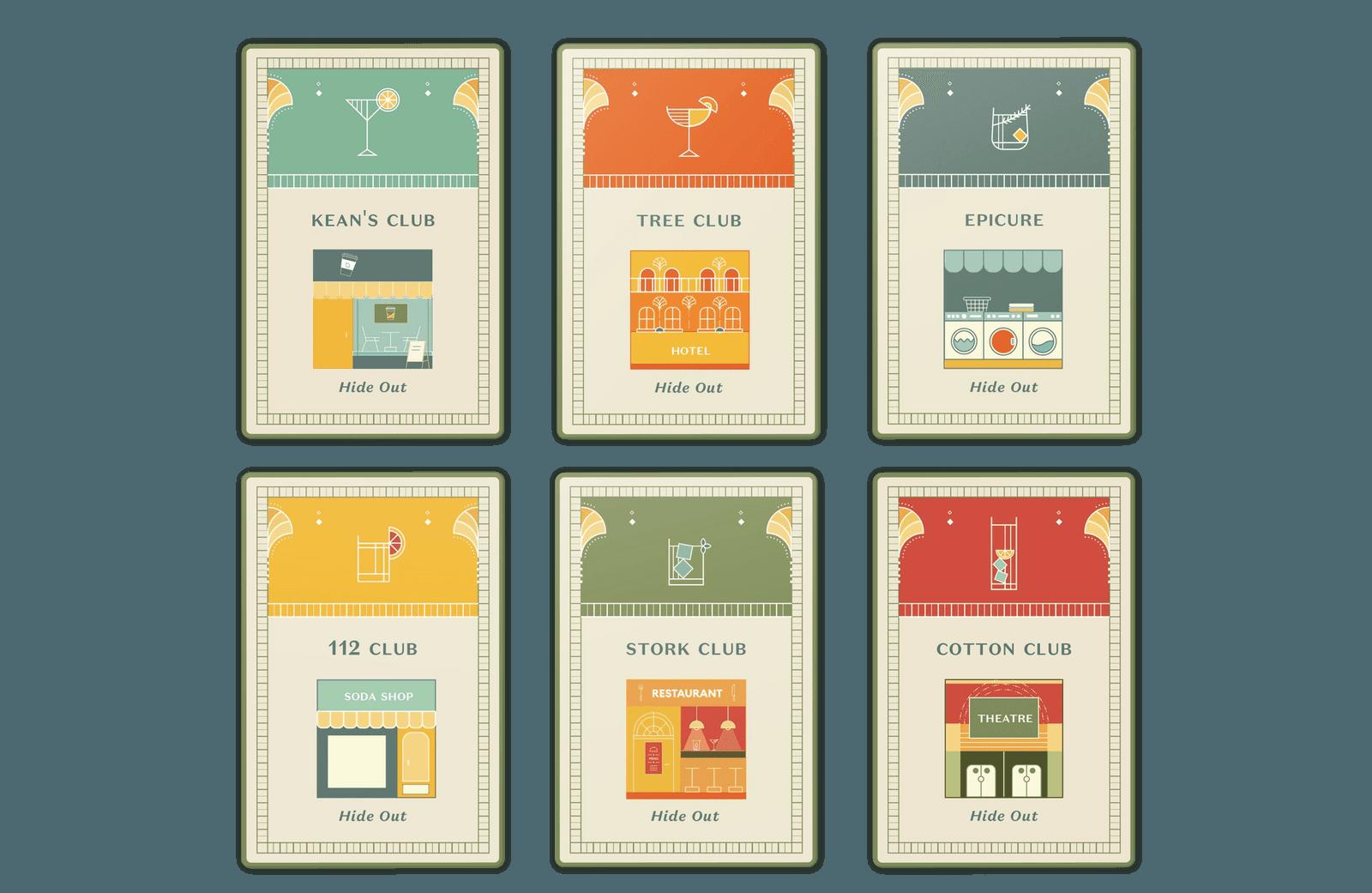 Speakeasy // Board Game Cards