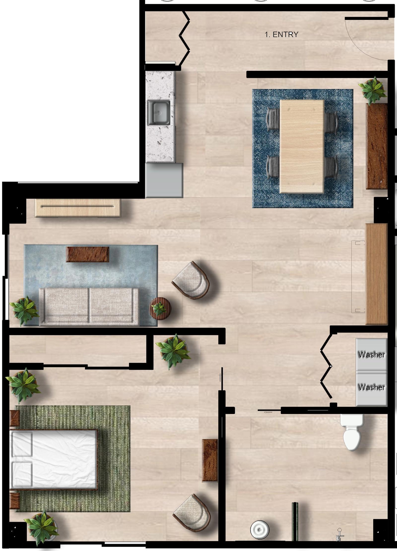 Couple Apartment