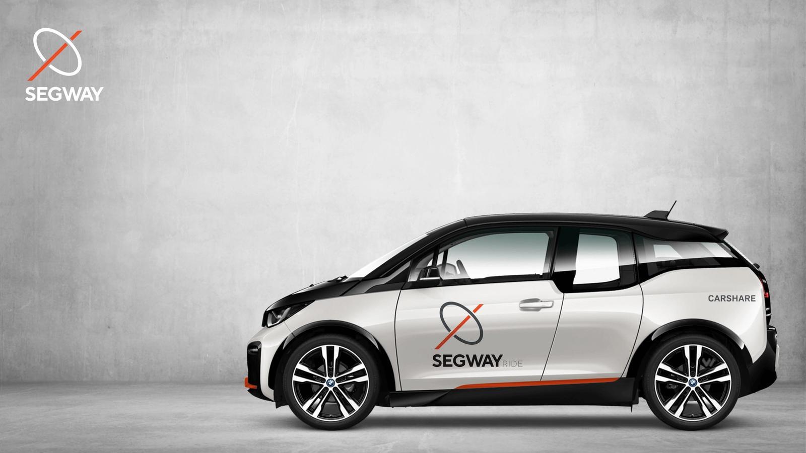 Segway Rebrand // Carshare Service
