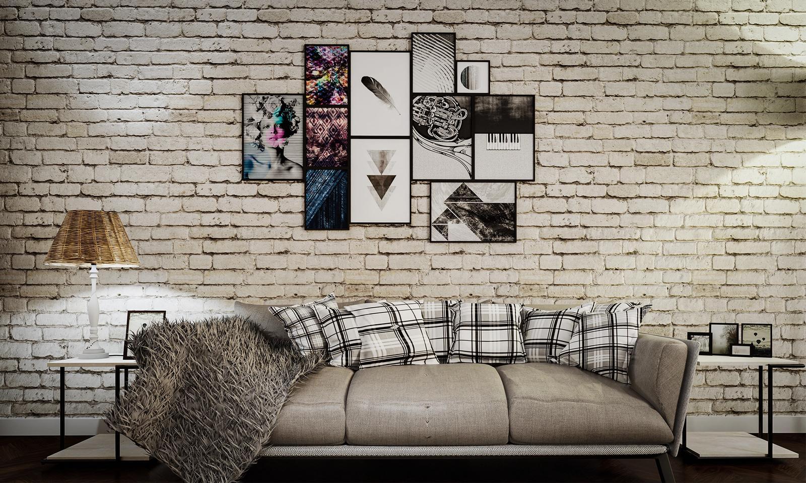 Elevation of Living room ( SketchUp + D5 Render )