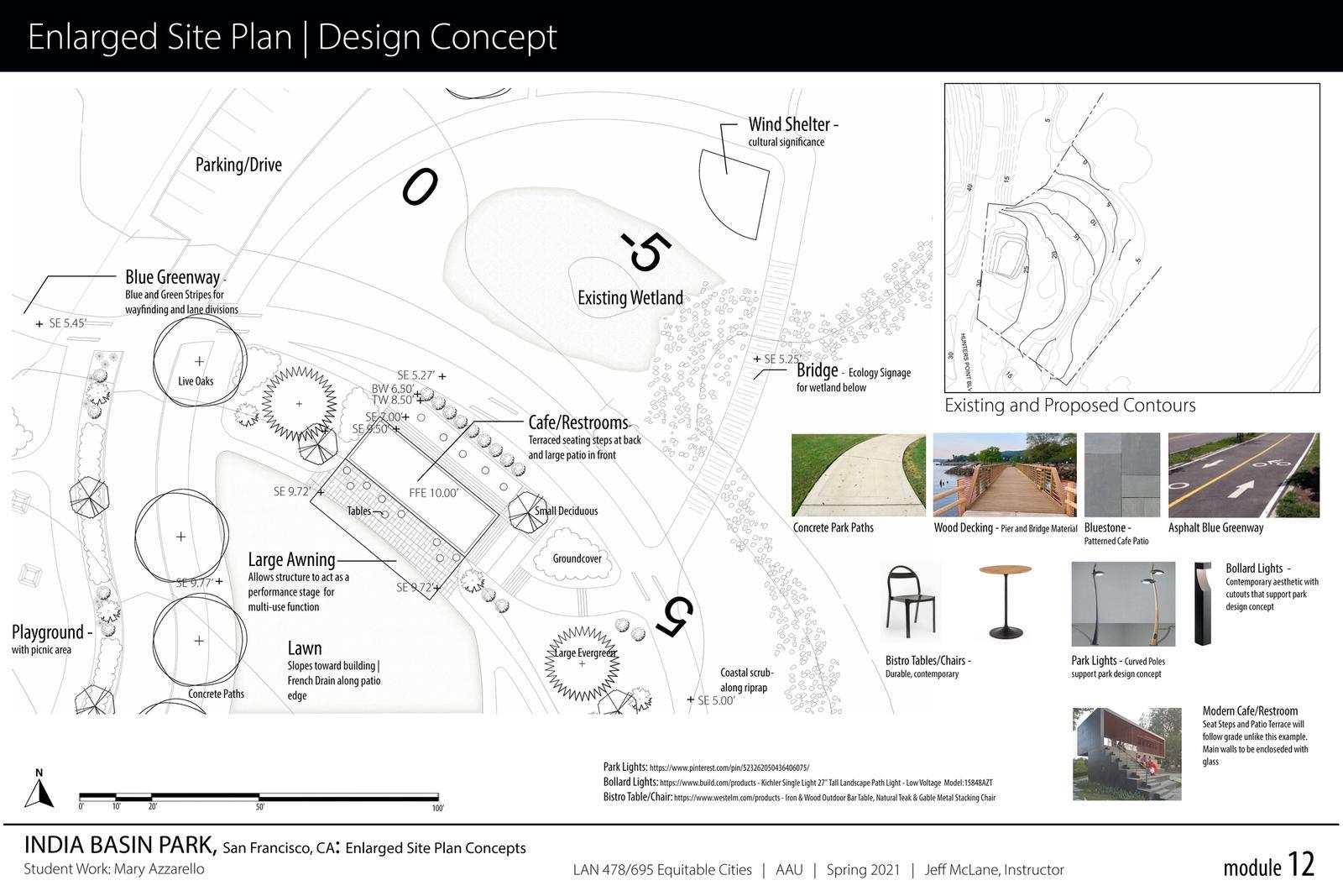 India Basin Park, San Francisco - Enlarged Site Plan 2