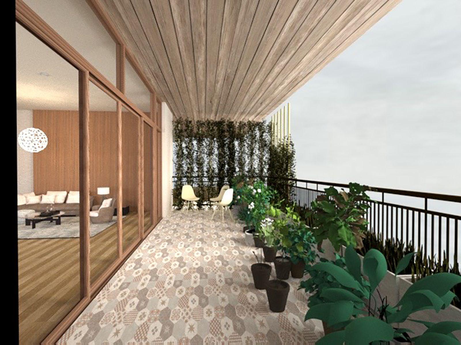 Ecolution - Balcony One