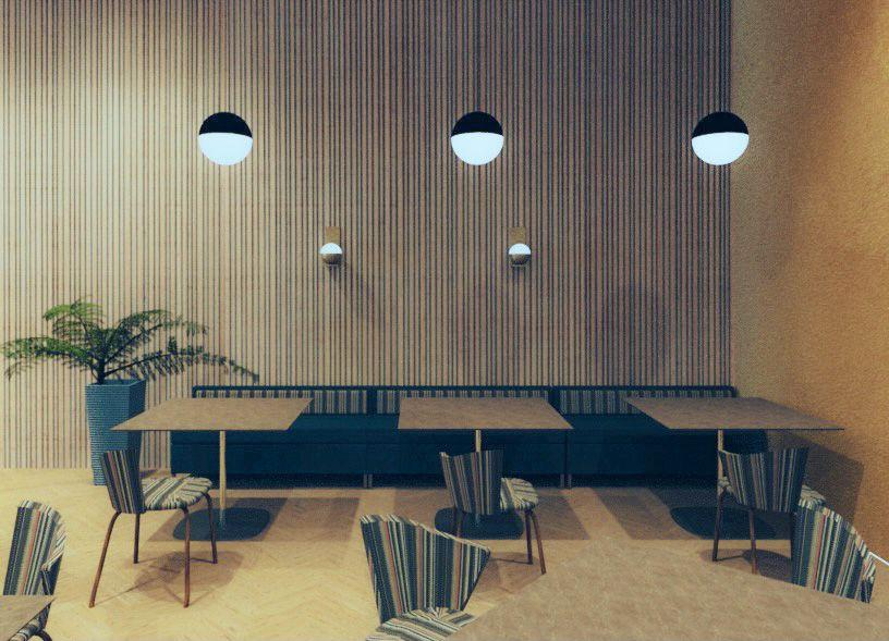 The Town Hotel - Interior Restaurant 2