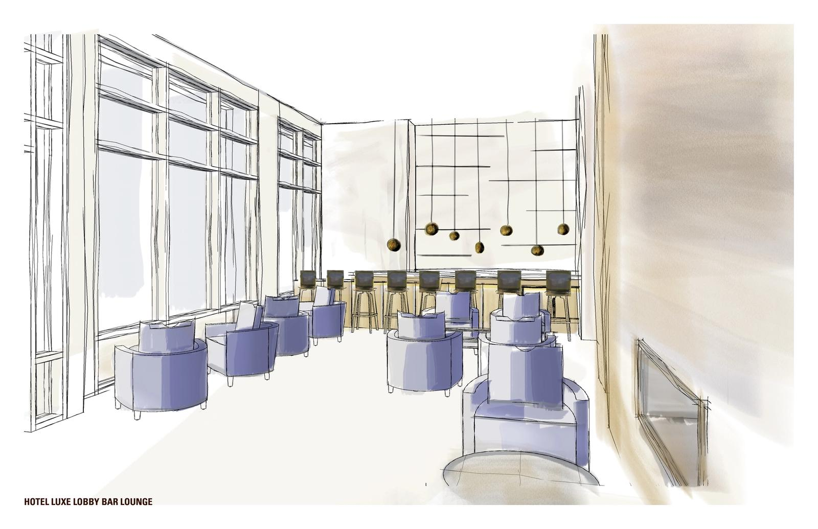 Hotel Luxe - Bar Lounge
