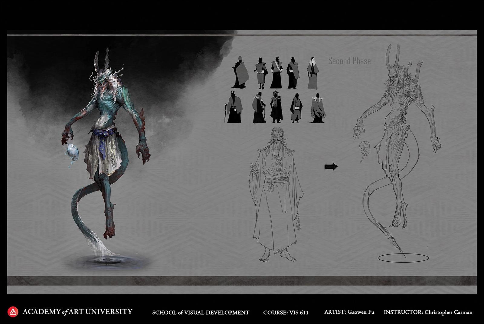 Dragon Character Concept
