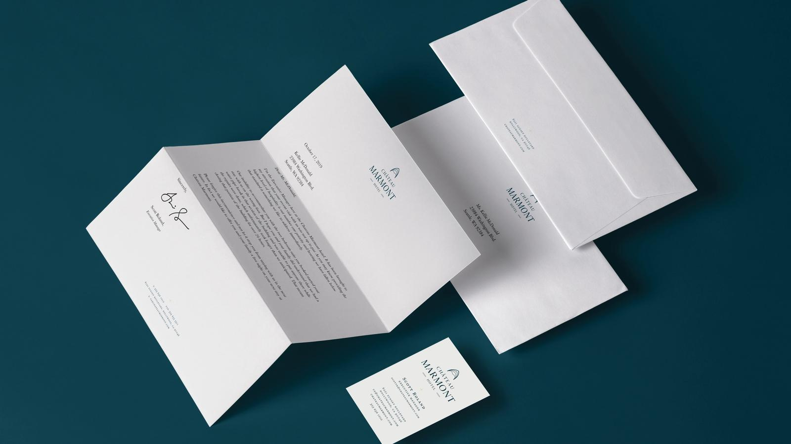 Chateau Marmont // Stationery System