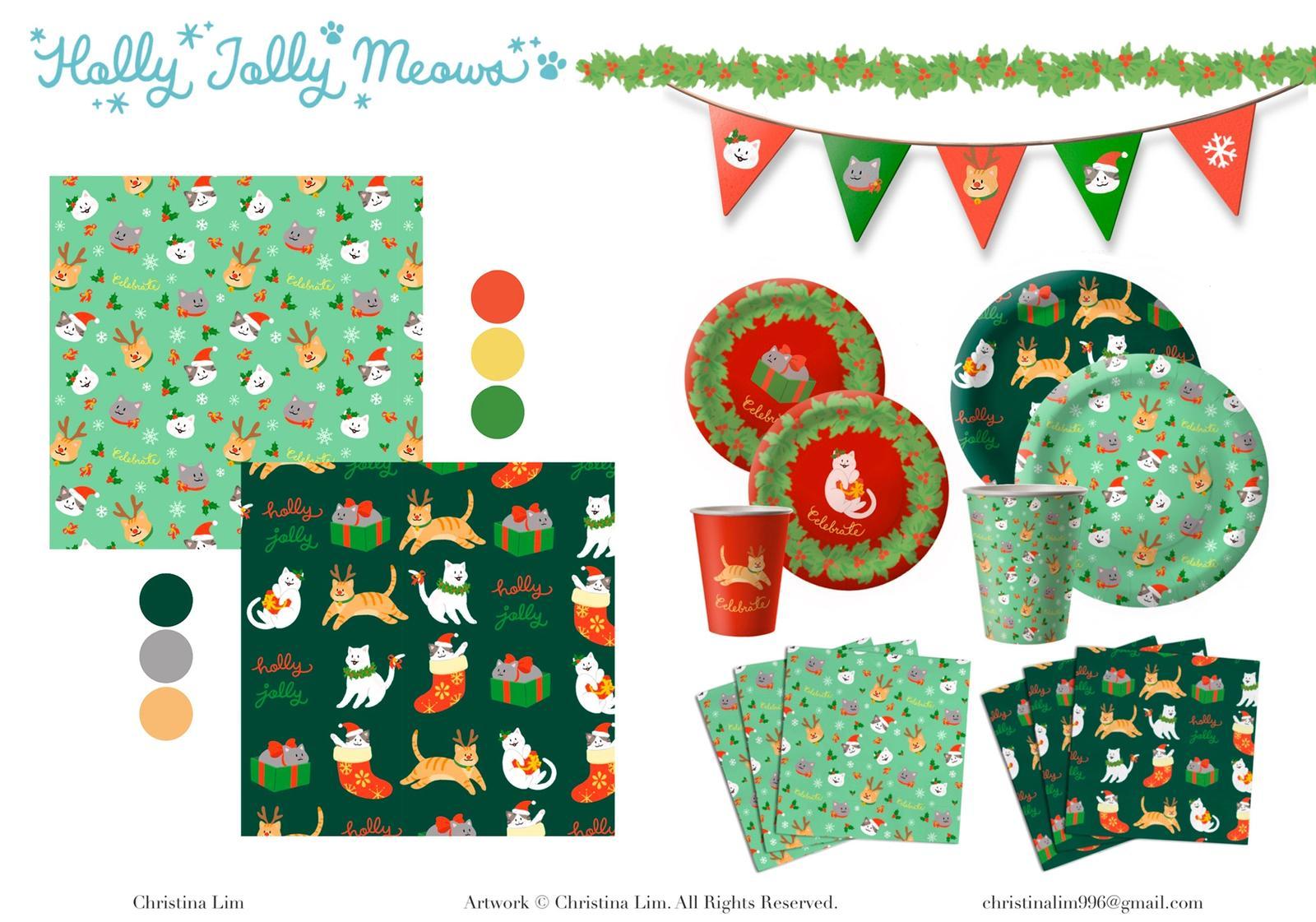 Holly Jolly Meows