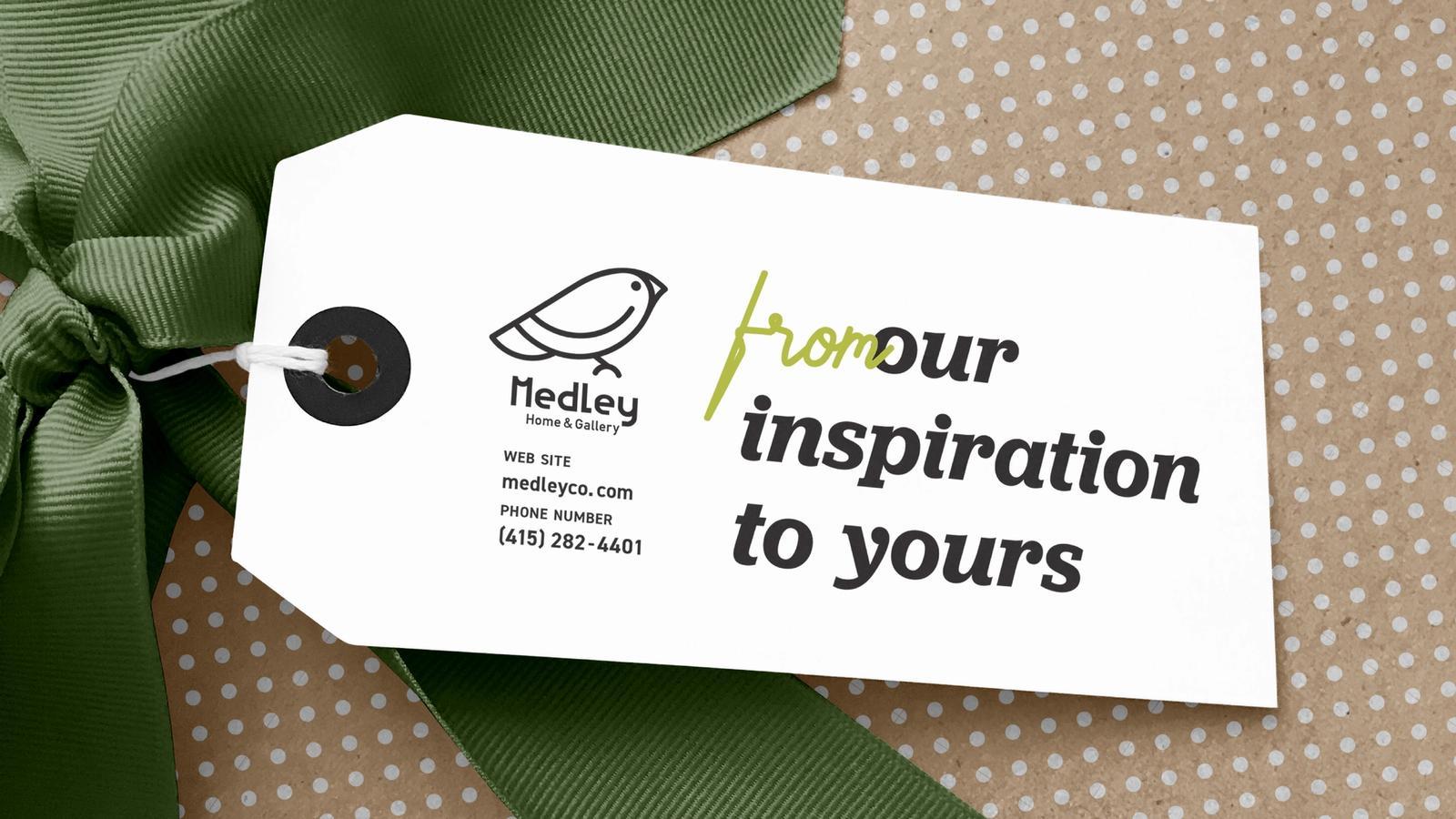 Medley Gift Registry // Boutique Retail Branding