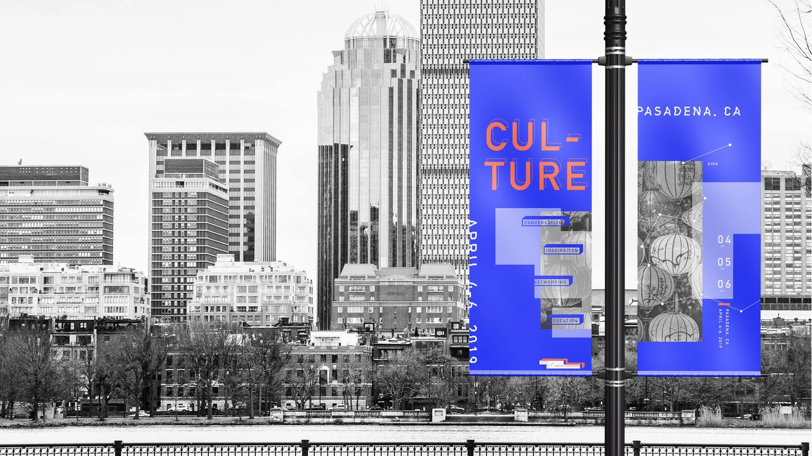 AIGA Conference // Outdoor Campaign