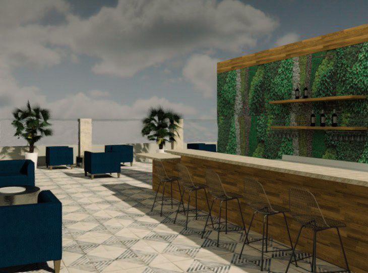 The Town Hotel - Sky Bar