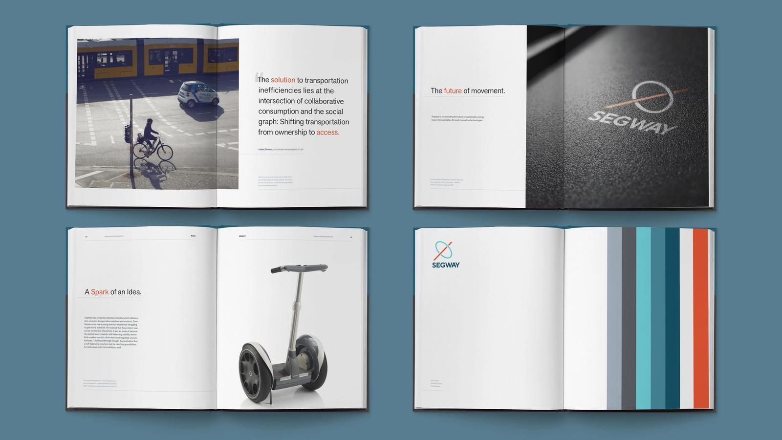 Segway Rebrand // Visual Standards Guide
