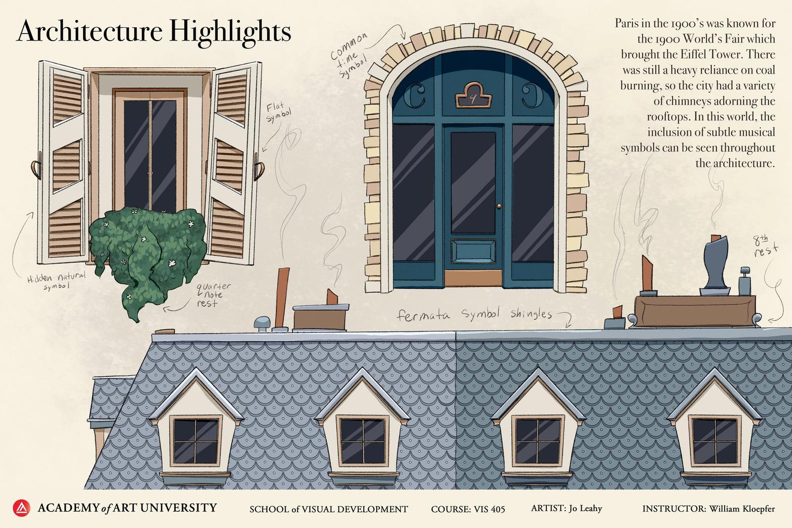 Paris Architecture Highlights - Maestro's Mouse