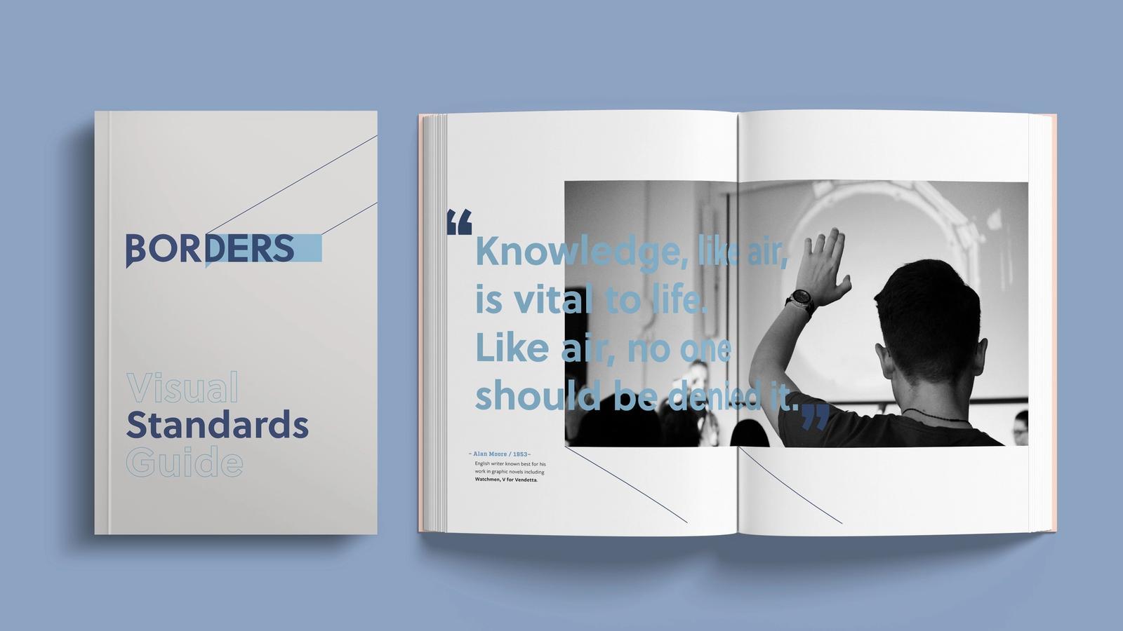 Borders Rebranding // Visual Standards Guide