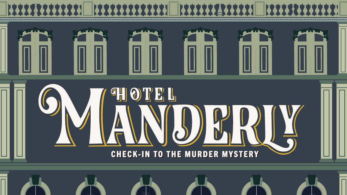 Manderly // Murder Mystery Board Game