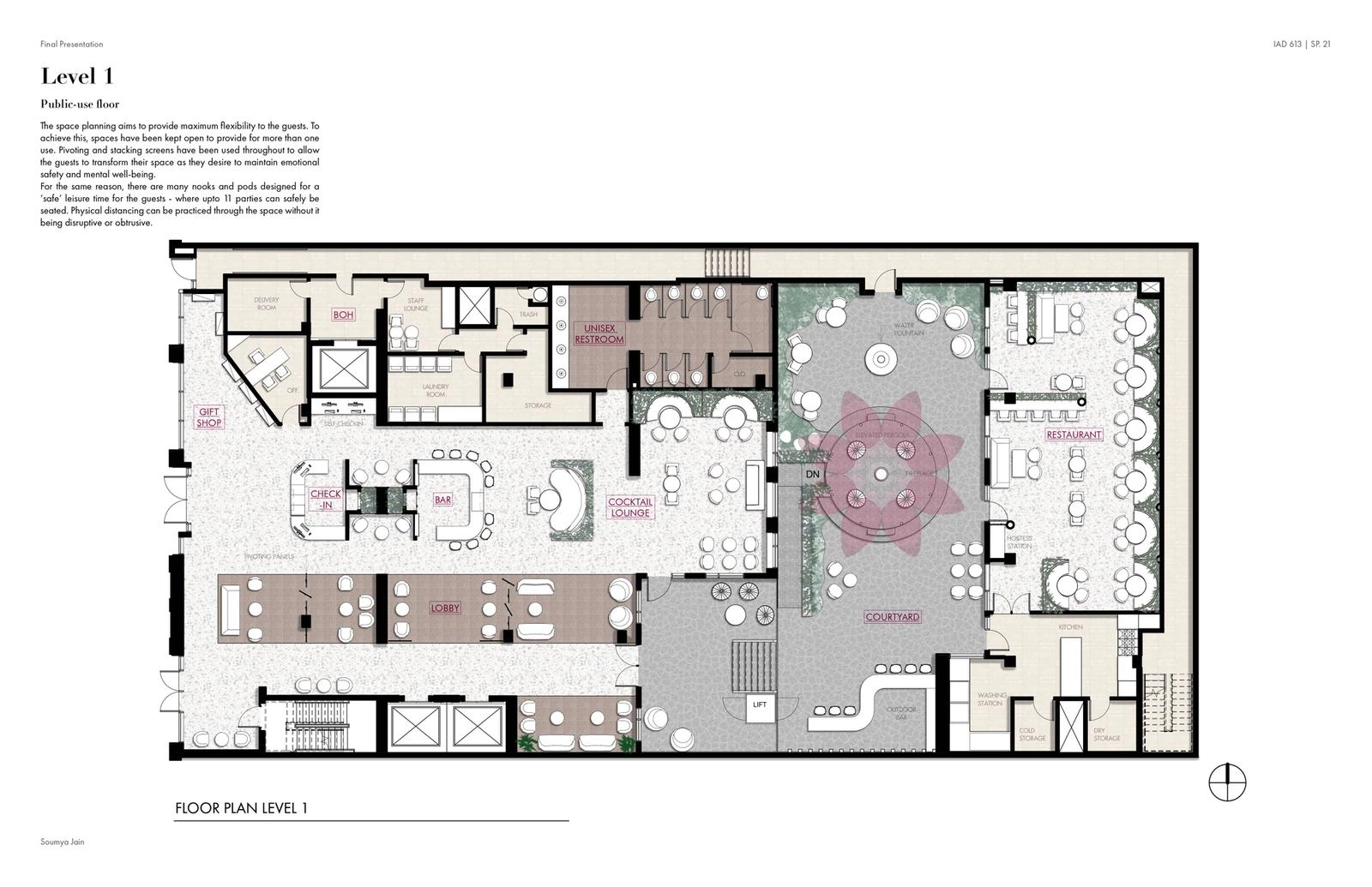Hotel Florescence - Level 1