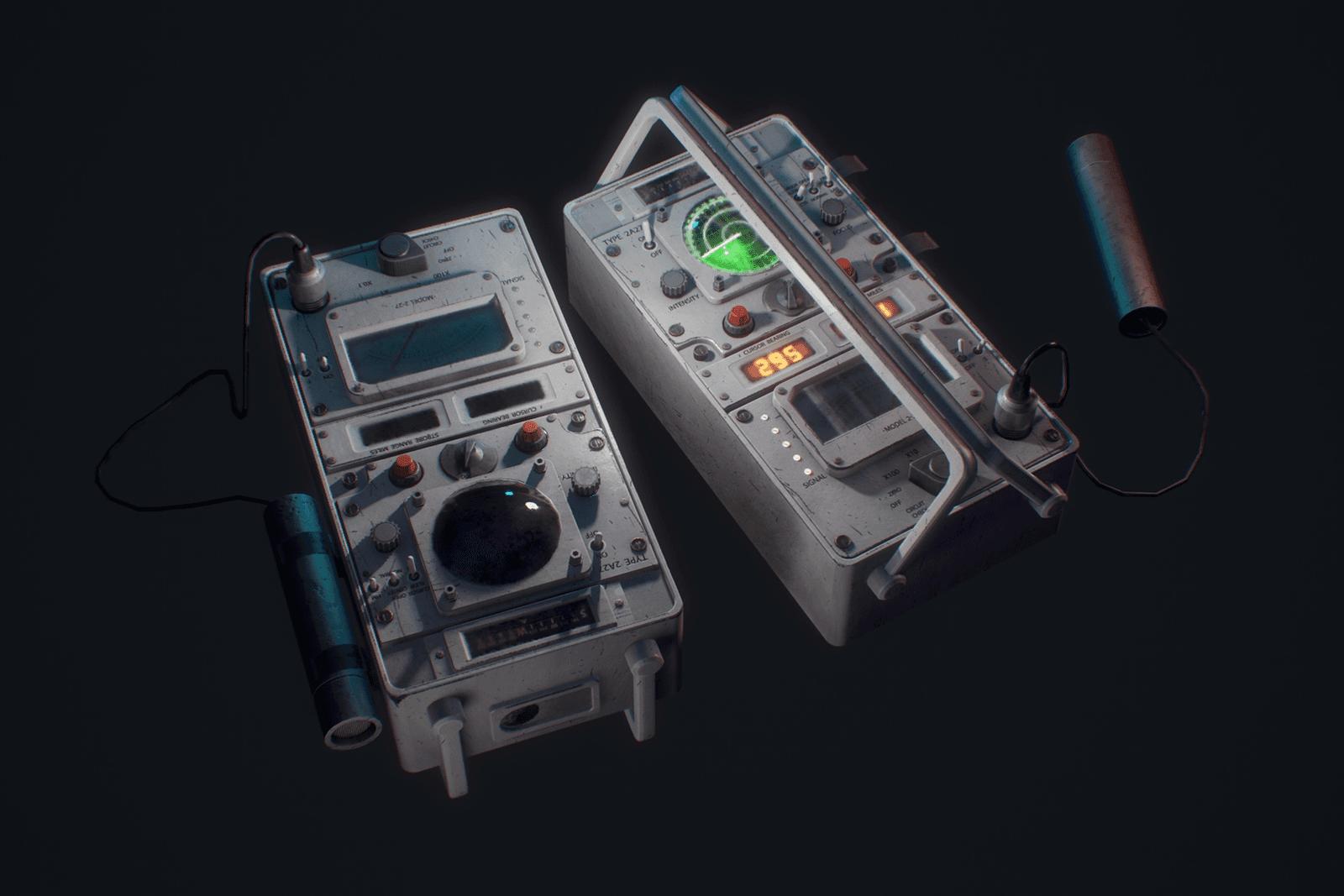 Monster Tracking Equipment