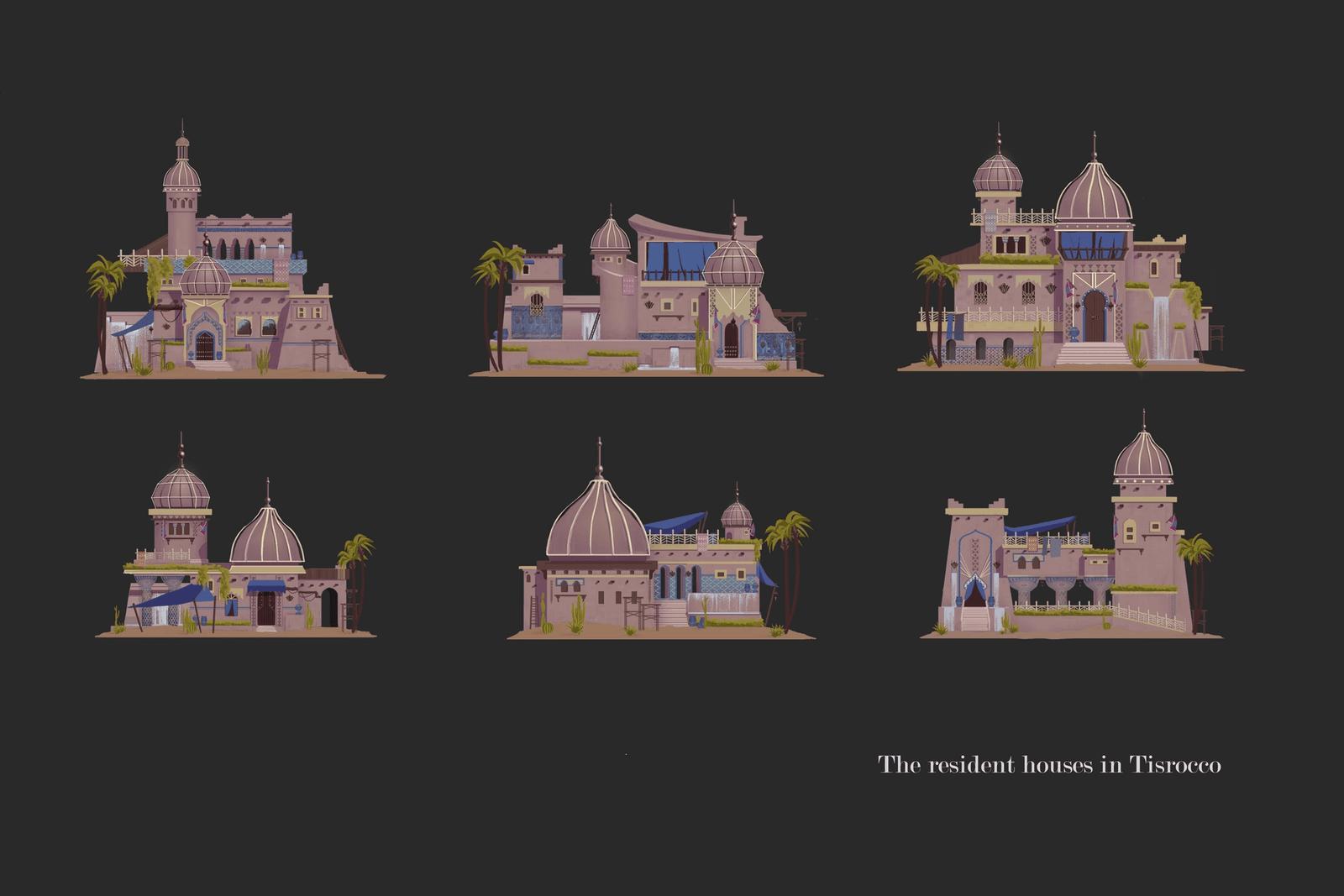 Tisrocco Resident Houses