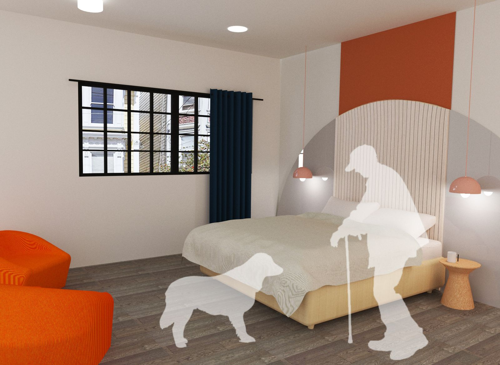 The Crossroads Residential Community - Bedroom