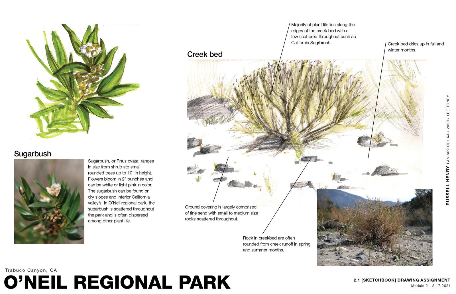 Sense of Place - O'Neil Regional Park