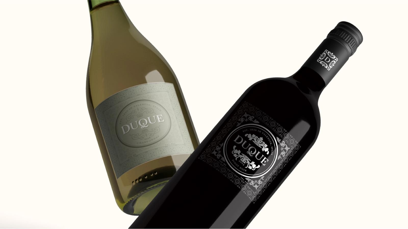 Duque // Spanish Wine Product Packaging