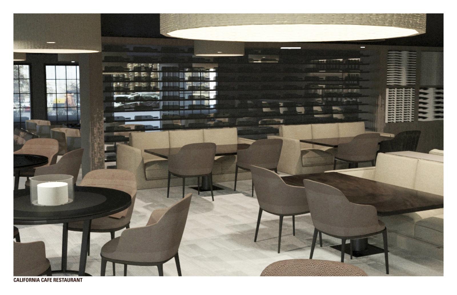 Fox Plaza Re-Imagined - Dining Room