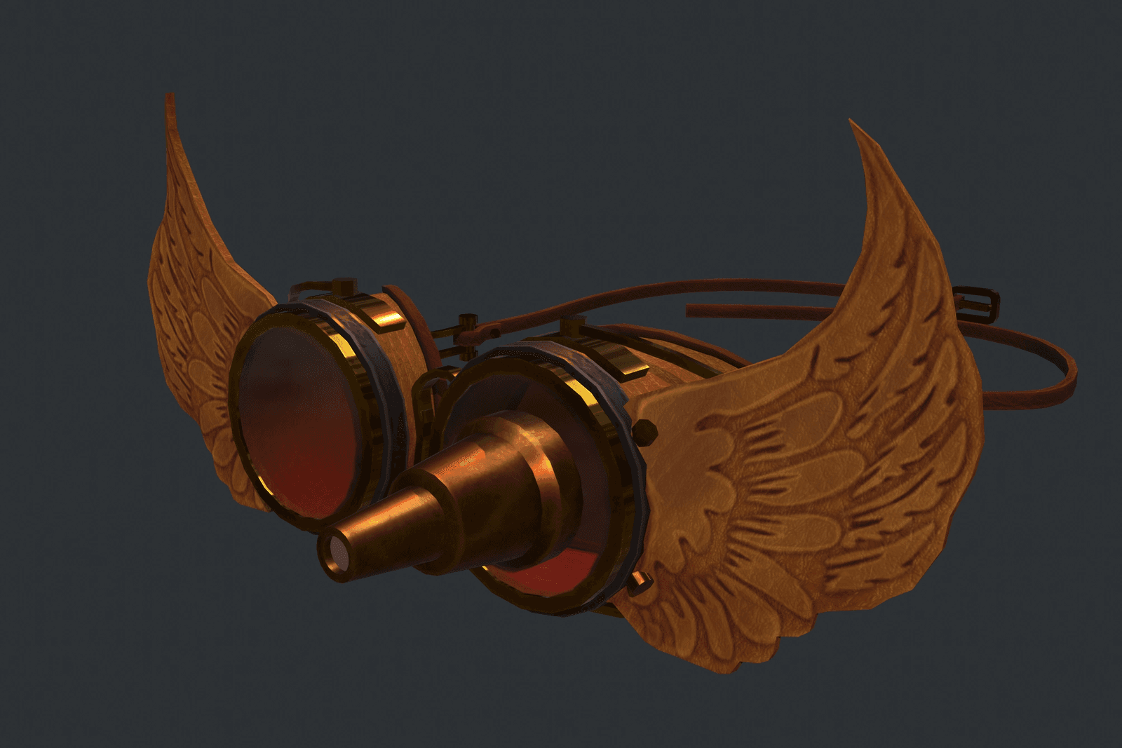 Angelic Steampunk Goggles