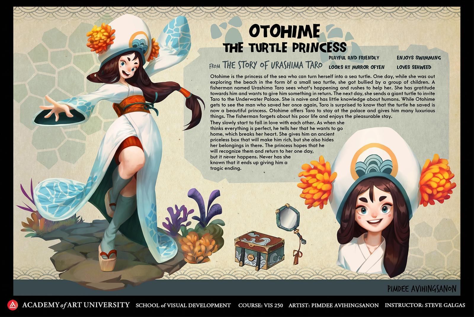 Otohime-The Turtle Princess 1