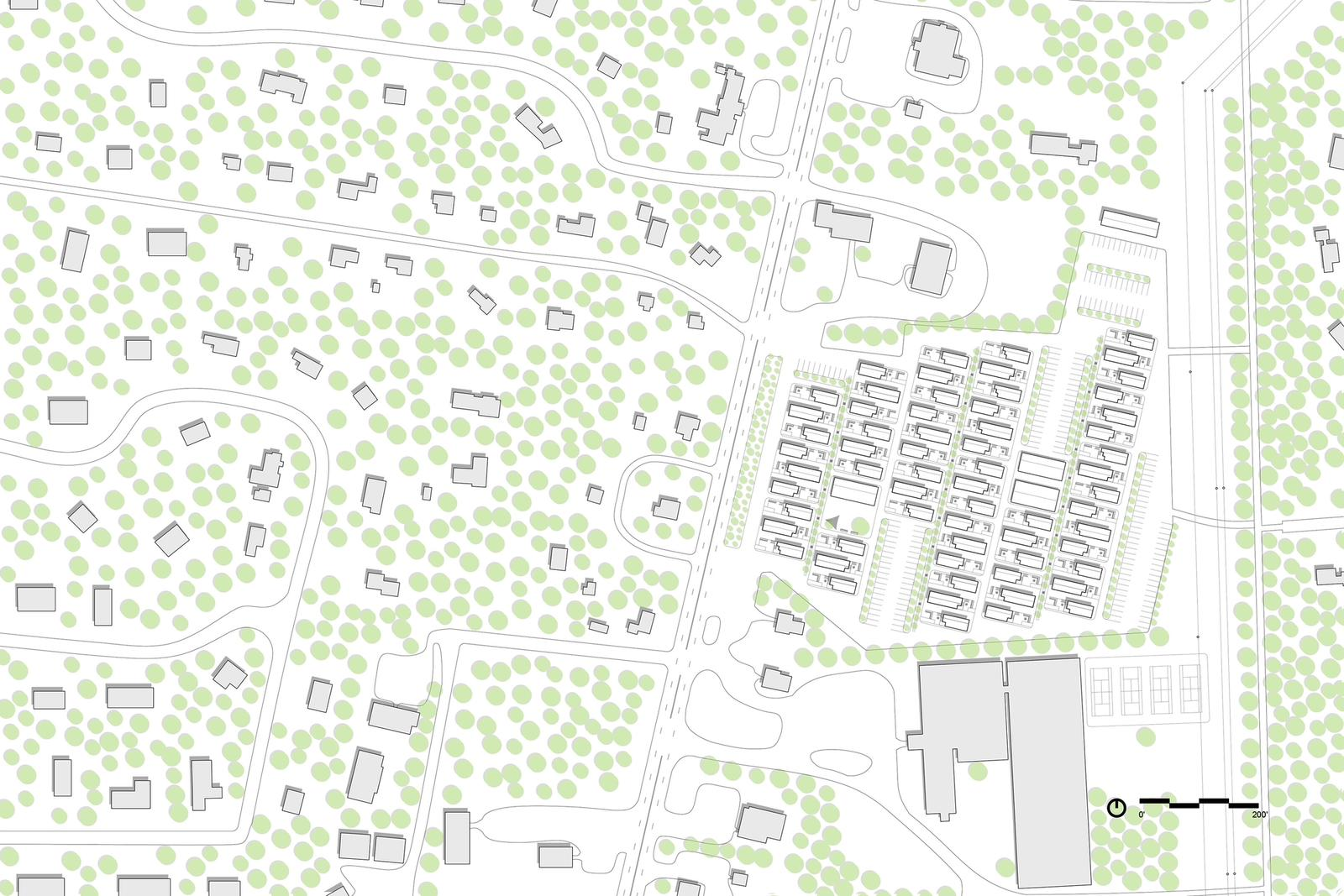 Outer Mix  Investigating mixed-use development as a means to fostering a healthy, year-round community on the Outer Cape - Site Plan