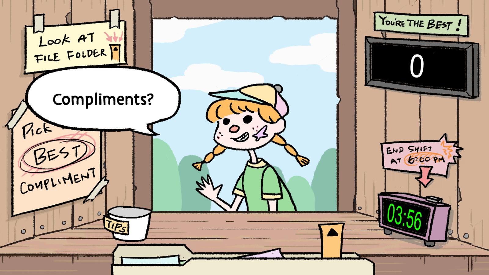The Compliment Corner - Screenshot 02