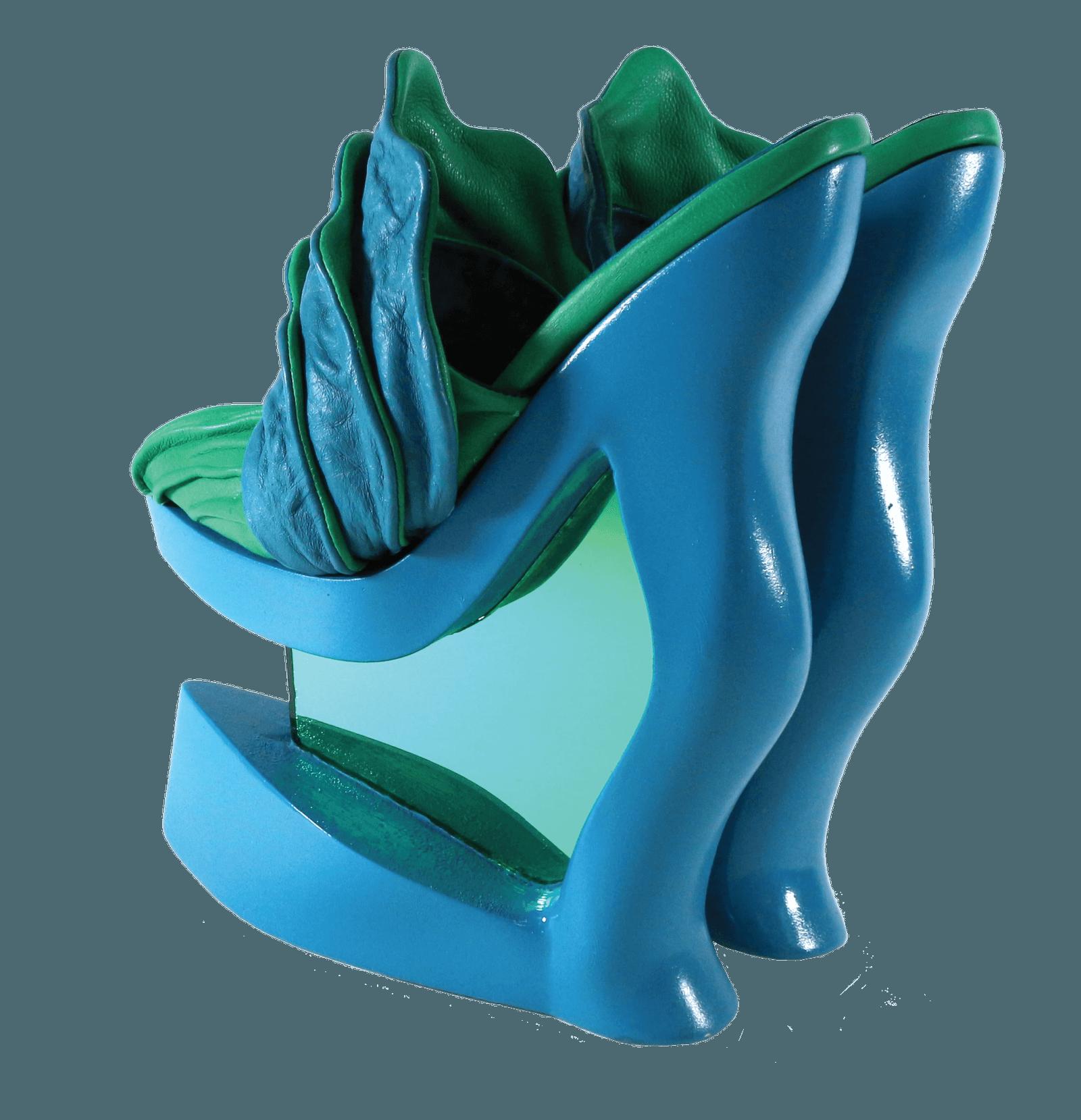 Footwear Shoes Mule 3d print